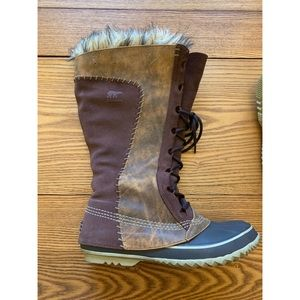 EUC Sorel Cate the Great Winter Boots